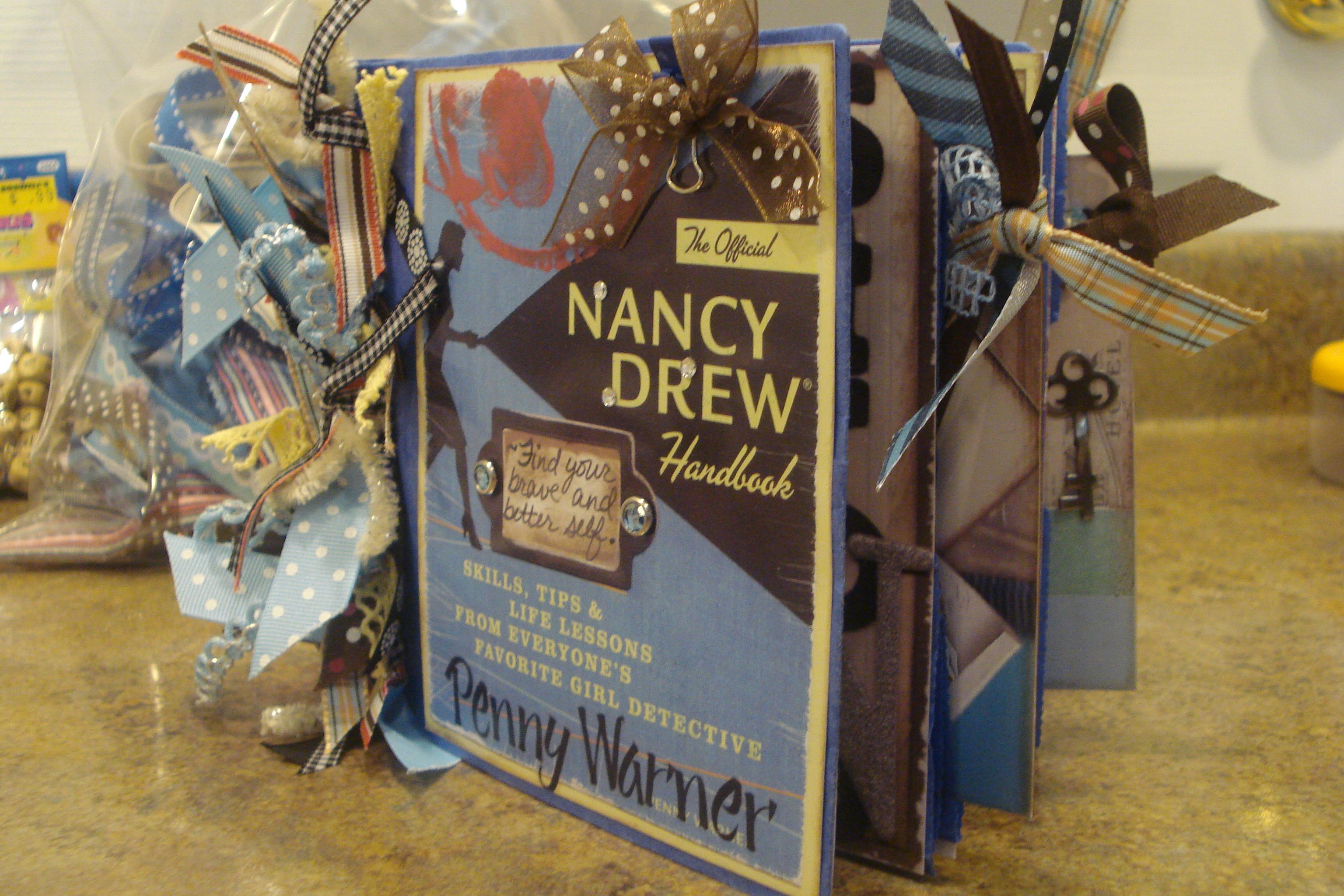 Nancy Drew Scrapbooks! & Penny Warner: The Official Nancy Drew Handbook